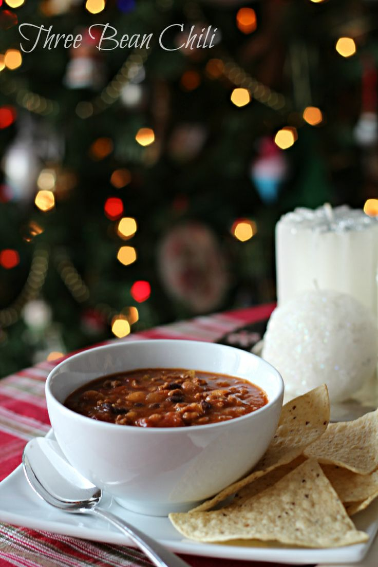 Three Bean Chili from Sheri @Sheri | Pork Cracklins | Pork Cracklins ...