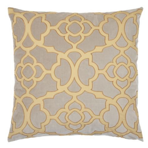 Patterned Pillow (Z Gallerie)
