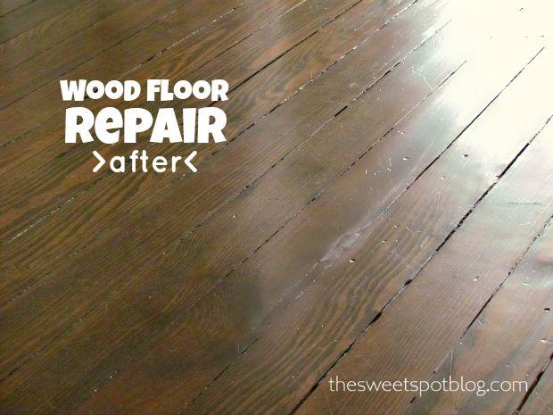 Wood Floor Repair How To