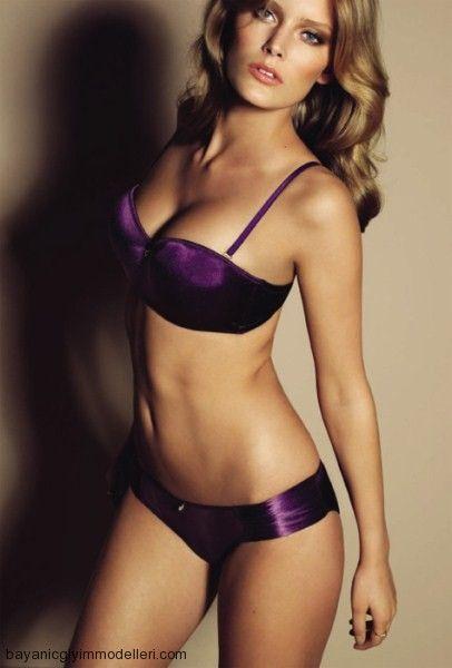 Purple Lingerie Purple Dreams Pinterest