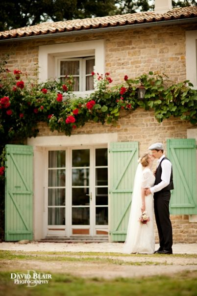 rustic french country style wedding