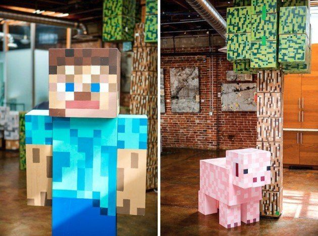 #minecraft party   (Credit: The Goodness)