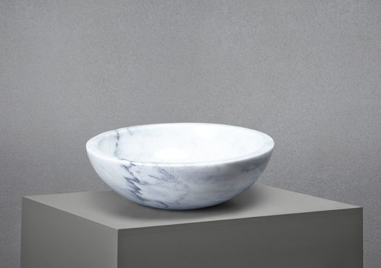 Marble Basin : Carrara Marble basin from Lapicida... beautifully proportioned and ...