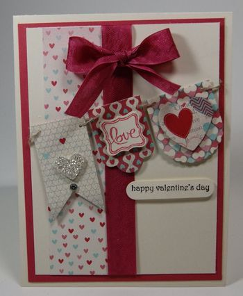 valentine cards stampin up