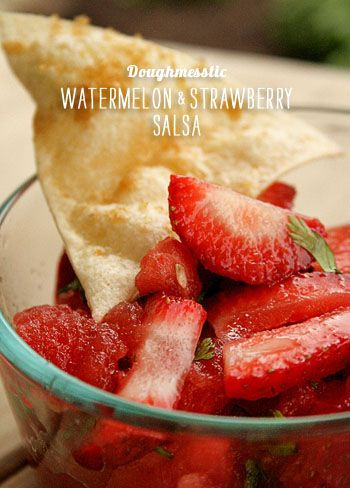 Strawberry Watermelon and Feta Salad | Recipe