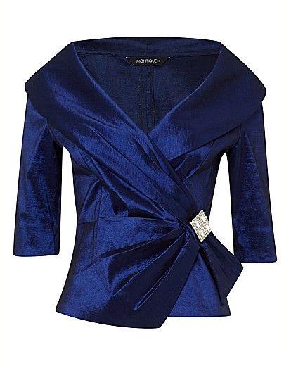 taffeta portrait collar blouse   silk blouses