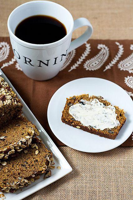 Pumpkin Oat Bread by Courtney   Cook Like a Champion, via Flickr