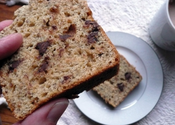 ... Banana Bread Day! Have some Peanut Butter Chocolate Chip Banana Bread