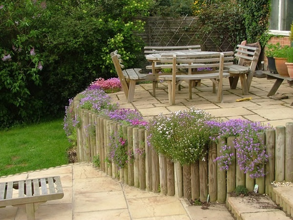 Timber Retaining Walls Outdoors Pinterest