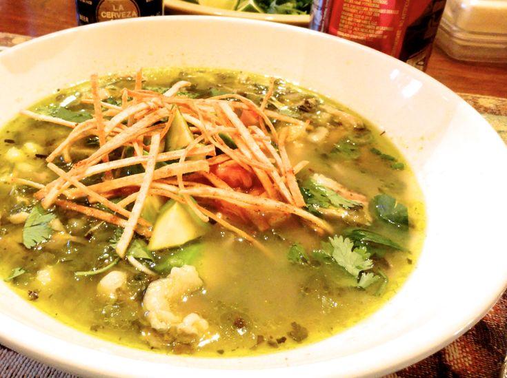 Green Chili Chicken Tortilla Soup | yummmmmy | Pinterest
