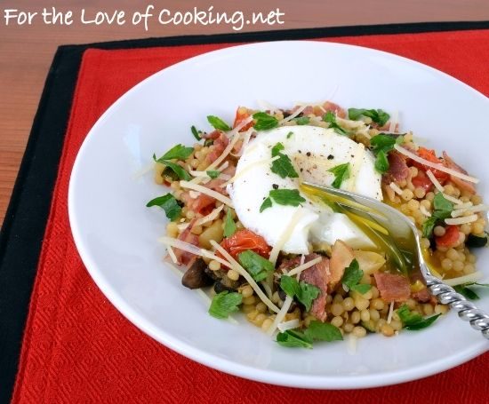 Israeli Couscous Salad With Roasted Vegetables Recipe — Dishmaps