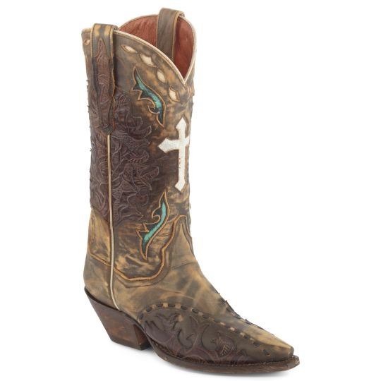 New Details About Laredo Dan Post Women39s Western Cowboy Boots Cowgirl