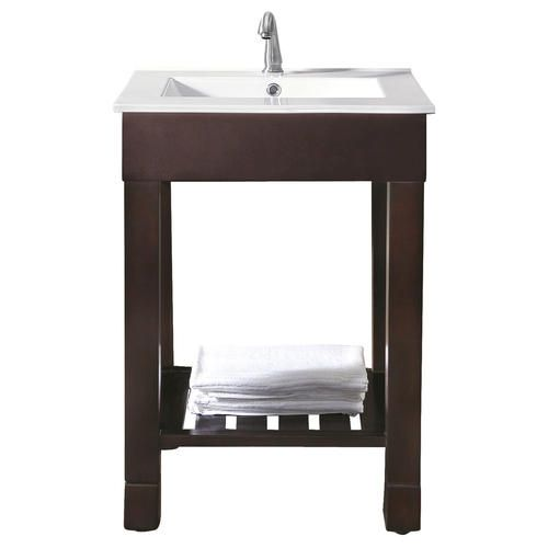 Avanity Loft 24quot; Vanity Only at Menards  Half Bath Remodel Ideas  P