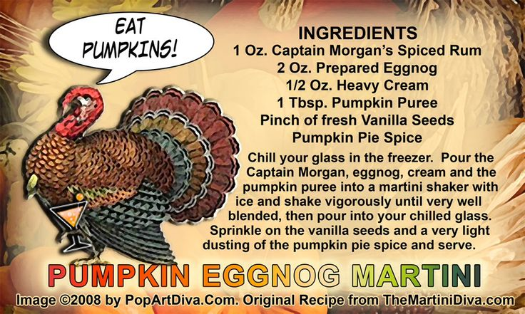 Pumpkin Eggnog Martini | Pumpkin Spice & Everything Nice | Pinterest