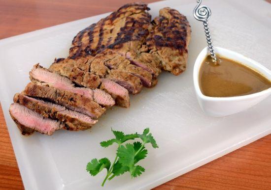 Grilled Asian Pork Tenderloin with Peanut Sauce | Favorite Recipes ...