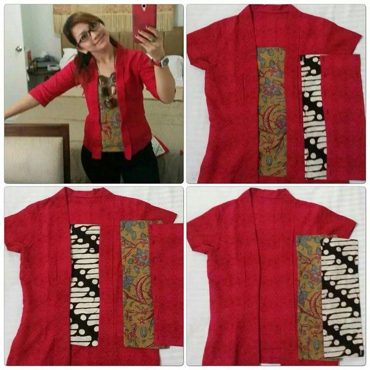 Batik Blazer On Pinterest Batik Dress Batik Fashion And ...