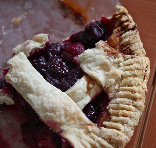 Sweet Cherry Pie | Pies, Tarts & Cobblers | Pinterest
