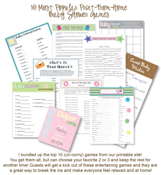 baby shower games diy crafting partying pinterest