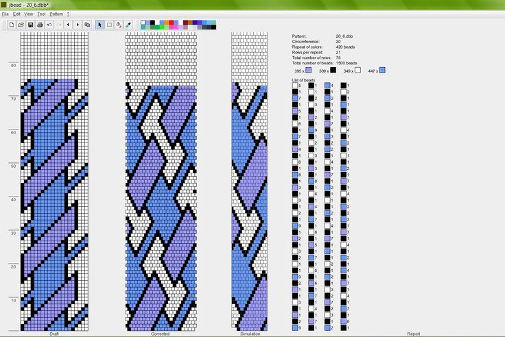 схемы крючком для бисерных жгутов