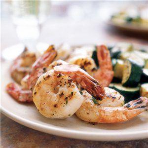 Grilled Shrimp with Garlic and Lemon | Wine Club | Pinterest