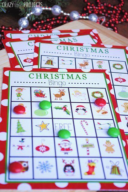 Free Printable Christmas Bingo Game | we need a little christmas | Pi ...