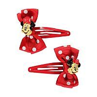 Minnie Mouse Bow Hair Clips | Girls | George at ASDA in Isabel advent ...