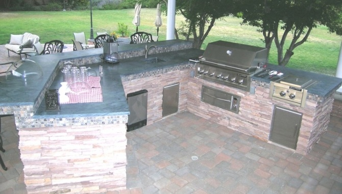 soapstone-countertops | Outdoor Kitchens and Grill | Pinterest