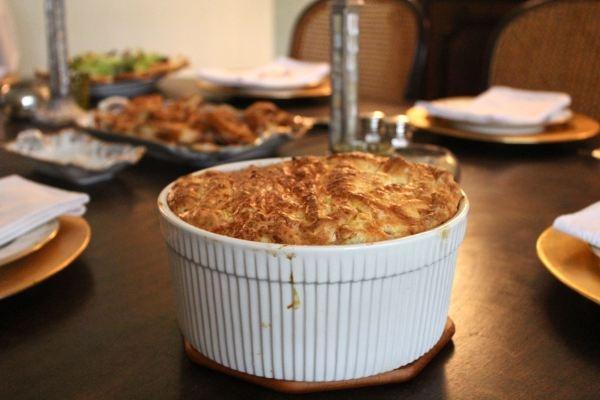 Ham, Leek & Gouda souffle | Brunch | Pinterest