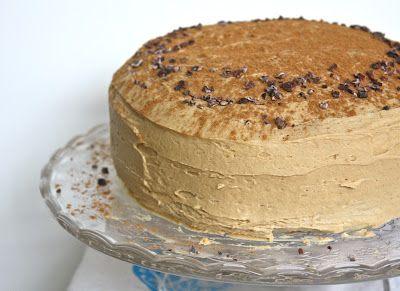 Chocolate Espresso Cake with Cinnamon Brown Sugar Buttercream – so ...