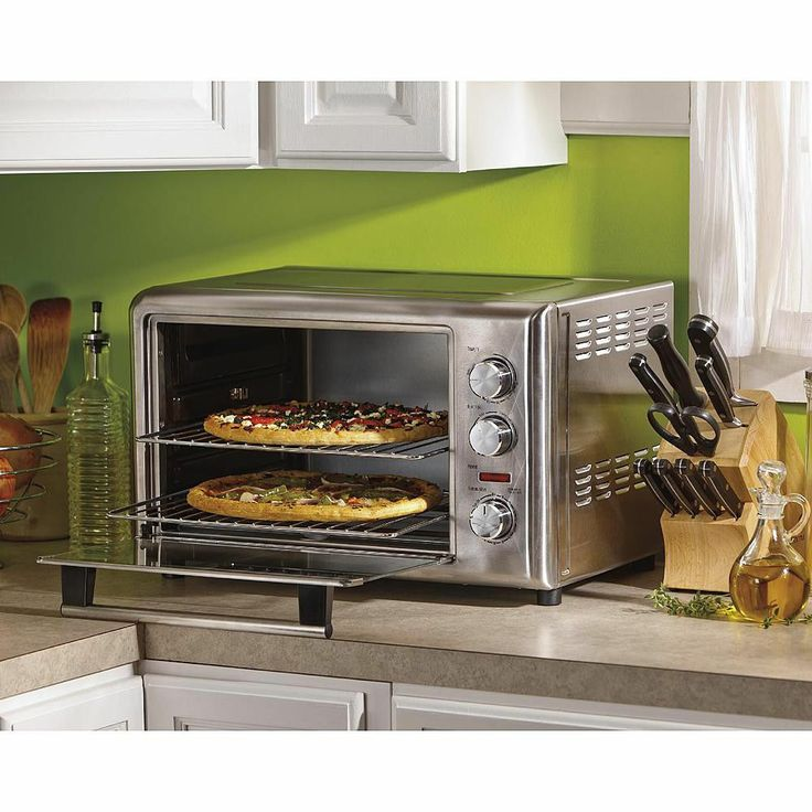 Baking In Countertop Convection Oven : Hamilton Beach Countertop Oven Convection Rotisserie Bake Broil Toast ...