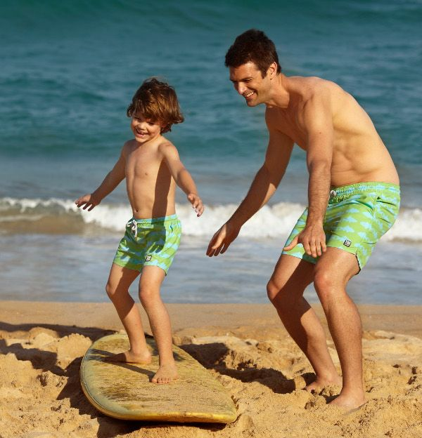 Tom & Teddy dive into swimwear for boys & men