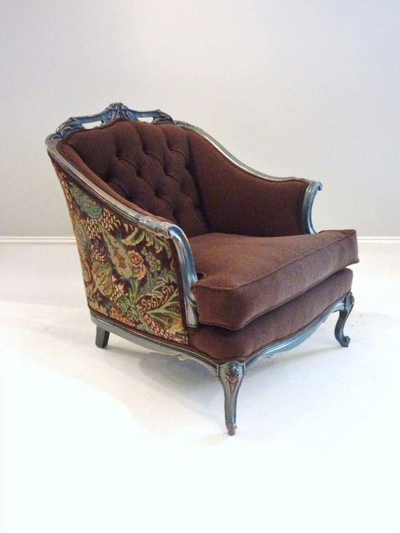 Chocolate And Berries Comfy Reading Chair