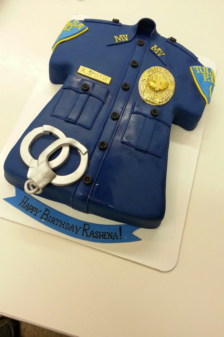 Cake Decorations For Police Cake : Police Birthday cakes Pinterest