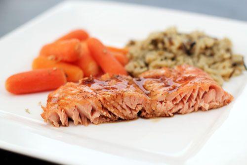 Maple Soy Glazed Salmon | Recipe