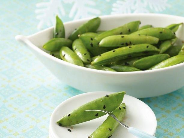 Sesame Sugar Snaps Recipes — Dishmaps