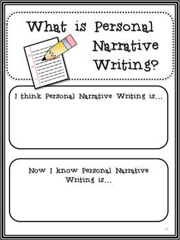 narrative essay writing lesson plan