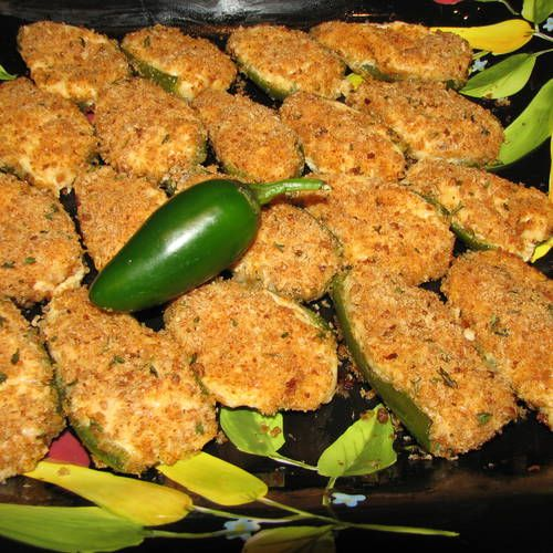 Easy Baked Jalapeno Poppers | Appetizers | Pinterest