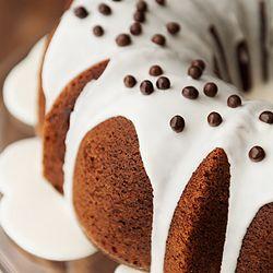 Chocolate Bourbon Cake | Bundt Cake Mania | Pinterest