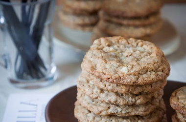 Salted Vanilla Bean White Chocolate Multigrain Cookie Recipes. # ...