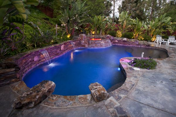 some very cool backyard pools when i gut the cove house