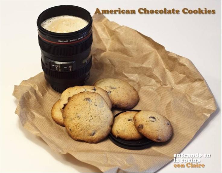 american chocolate cookies meriendas pinterest. Black Bedroom Furniture Sets. Home Design Ideas