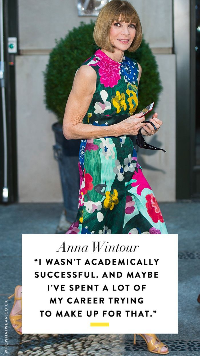 Afternoon Slump 10 Anna Wintour Quotes to Make You Feel Super-Motivated