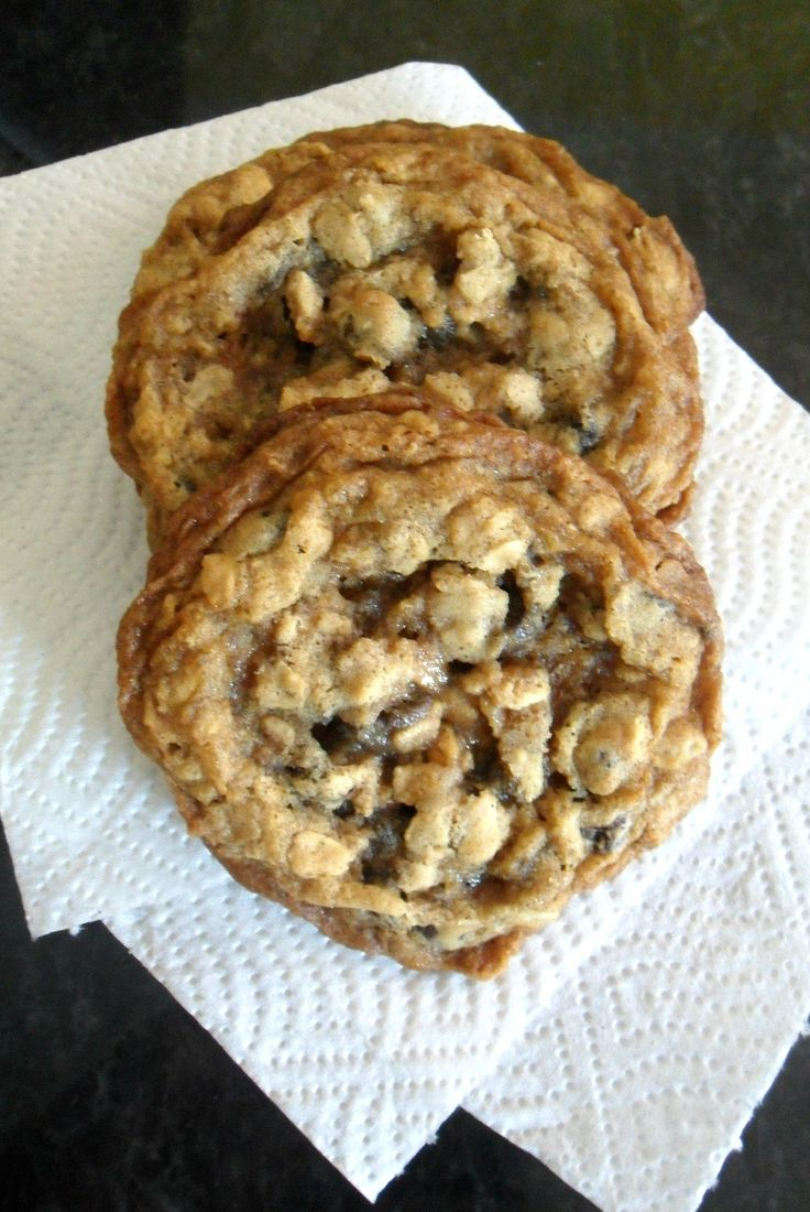 Oatmeal Chocolate Chip Cookies for 1! | recipe | Pinterest