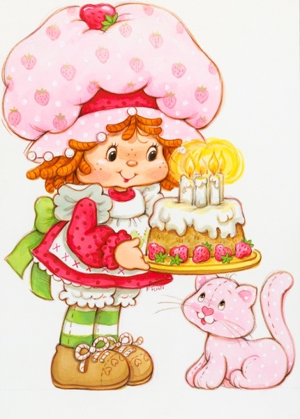 Strawberry Shortcake birthday! | Custard from Strawberry Shortcake ...