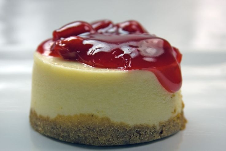 Drunken Mini Cherry Cheesecakes Recipe — Dishmaps