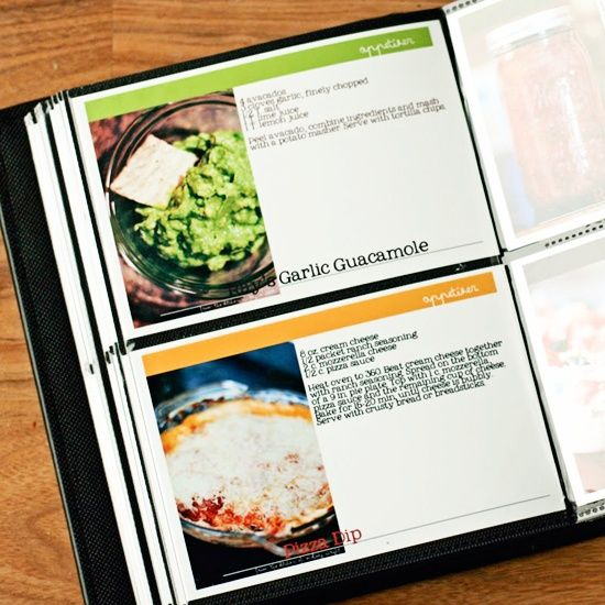 Diy cookbook diy crafts gifts pinterest for Create your own cookbook template