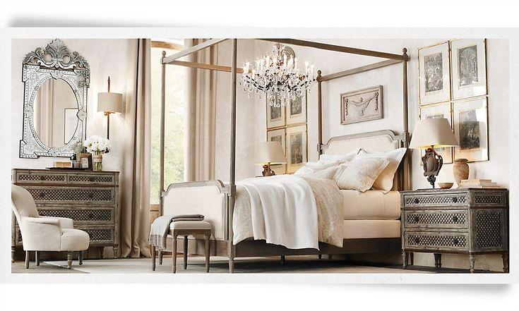 restoration hardware bedroom hollywood for koral pinterest