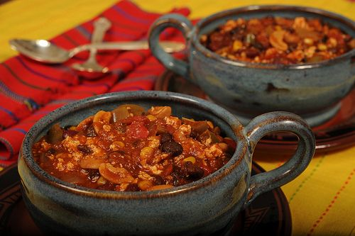 the ultimate veggie chili | Delish! | Pinterest