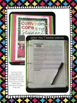 5th grade common core data checklist math and ela