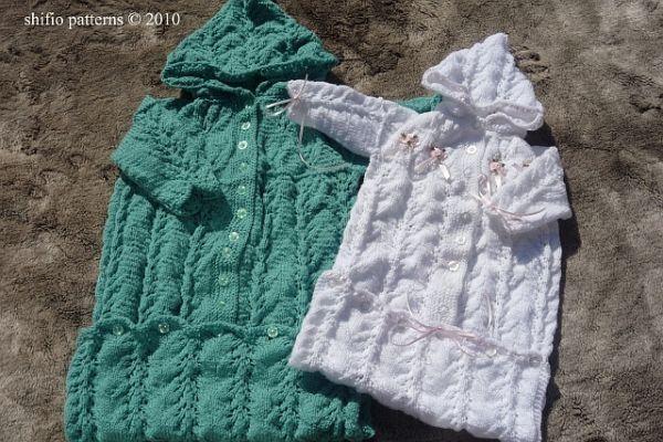 Knitted Baby Sleeping Bag - USD4.00 Baby (cocoon, sleep ...